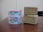Мыло хозяйственное 72%,  бумагу туалетную
